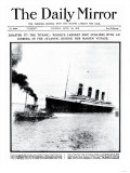 Disaster to the Titanic: Worlds Largest Ship Collides with Iceberg During Her Maiden Voyage