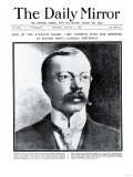 End of the Atlantic Chase: 'Dr' Crippen  Who was Arrested at Father Point  Canada  Yesterday