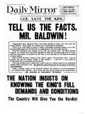 Tell Us the Facts Mr Baldwin!