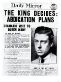 The King Decides: Abdication Plans