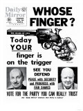 Whose Finger Today Your Finger is on the Trigger