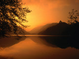 Sunset Reflecting on the Alpsee  Bavaria  Germany