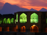 Khaju Bridge  Built in 1650 by Shah Abbas  Esfahan  Esfahan  Iran