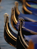 Gondola Stern Ironwork &quot;Feri Da Pope &quot; Venice  Veneto  Italy
