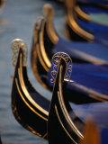 "Gondola Stern Ironwork ""Feri Da Pope "" Venice  Veneto  Italy"