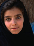 Girl at Aschiana School  Looking at Camera  Kabul  Afghanistan