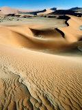 Sand Dunes in Namib Nauklaft National Park  Sossusvlei  Namibia