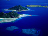 Aerial View of Islands  Fiji