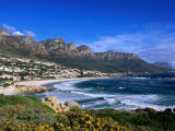 Beach at Camps Bay  Cape Town  South Africa