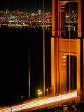 The Golden Gate Bridge with the City of San Francisco Behind  San Francisco  California  USA
