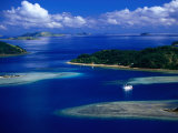 Aerial View of Island  Fiji