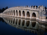 Seventeen Arch Bridge at Summer Palace Bejing  China