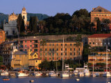 Buildings on Waterfront  Santa Margherita  Liguria  Italy