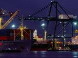Container Ships  Melbourne Docks  Melbourne  Australia