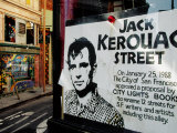 Sign  Jack Kerouac Street  North Beach District  San Francisco  United States of America