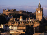 Cityscape from Calton Hill Edinburgh  Edinburgh  Scotland