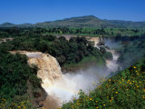 Blue Nile Falls or Tis Abay (Smoke of the Nile)  Blue Nile Falls  Amhara  Ethiopia