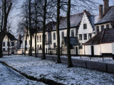 Begijnhof  Convent for Benedictine Nuns  Bruges  Belgium