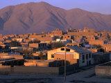 Cityscape at Sunrise  Kabul  Afghanistan