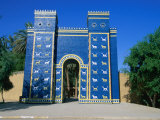 Reconstructed Ishtar Gate  Babylon  Babil  Iraq