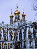 Grand Palace or Catherine Palace in Tsarskoye Selo  St Petersburg  Russia