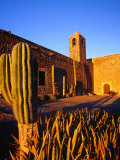 Mission Santa Rosalia De Mulege  Built in 1770 Overlooking the Santa Rosali River  Mulege  Mexico