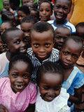 Group of Schoolchildren  Mombasa  Kenya