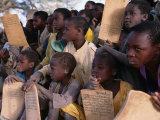 Children at Village School  Niger