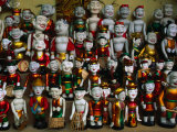 Colourful Puppets Used in the Ancient Art of Water Puppetry (Roi Nuoc)  Hanoi  Vietnam