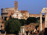 Roman Forum and Colosseum Rome  Italy