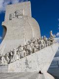 Discovery Monument Padrao Dos Descobrimentos  Belem  Lisbon  Portugal