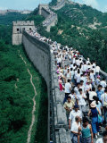 Standing Room Only on the Great Wall  Badaling  Beijing  China