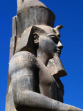 Colossi to Thutmose II at Temple of Luxor  Luxor  Egypt