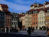 Stare Miasto  Old Town Square  Warsaw  Poland