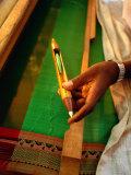 Silk Weaving Tool  Kanchipuram  Tamil Nadu  India
