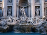 Trevi Fountain  Created by Nicola Salvi  Rome  Italy