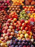 Fruit at La Boqueria Market  Barcelona  Spain