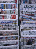 French and Flemish Newspapers  Brussels  Belgium