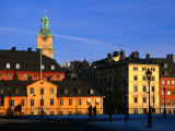 Storkyrkan and Gamla Stan Seen from Riddarholmen Island  Stockholm  Sweden