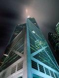 Bank of China at Night  Hong Kong  China