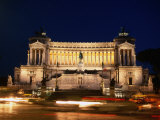 Vittorio Emanuele Monument  Rome  Italy
