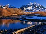 Emigrant Peak in the Absaroka Ranges  Paradise Valley  Montana  USA