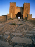 Gates of Ancient City of Nineveh  Now Mosul  the Third Capital of Assyria  Al Mawsil  Iraq