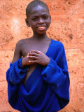 Portrait of Boy in Togoville  Togo