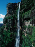 Bridal Veil Falls  Govetts Leap Lookout  Near Blackheath Blue Mountains National Park  Australia