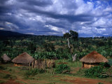 Traditional Village Huts  Southern Nations  Nationalities and Peoples  Ethiopia