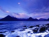 The Black Cuillin Mountains  Isle of Skye  Scotland