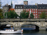 The Marble Bridge Over Frederiksholms Canal  Copenhagen  Denmark