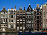 Row of Buildings  Amsterdam  Netherlands