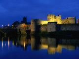 King John's Castle Over the River Shannon  Limerick  County Limerick  Ireland  Munster